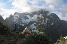 North Cascades National Park, Washington state.  http://www.nps.gov/noca/index.htm