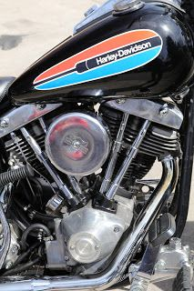 OldMotoDude: 1972 Harley-Davidson FX Shovelhead on display at the 2018 Classic Bike Show -- Lakewood, Co.