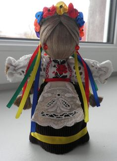 Sornitsa  Ukrainian handmade cloth motankadoll by TheBestPresent, $27.00