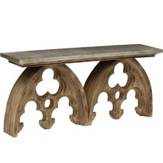 Arched Cathedral Table