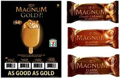 Beginning 11/6 all 7 Eleven store have Magnum Bars on sale for $1.99! #coupons #savings #luxuryforless