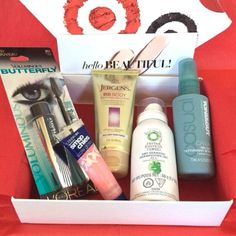 Yay! My Target Beauty Box arrived today!!! Love it!