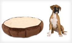 Groupon - Pioneer Boxed, Gusset, or Puffy Round Pet Beds (Up to 59% Off). Free Shipping and Free Returns. in Online Deal. Groupon deal price: $19.00