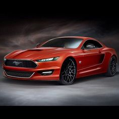 if this is the new mustang hen they finally are getting back to the power look for this car , almost looks super sport