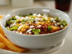 Texas Chili recipe from Diners, Drive-Ins and Dives via Food Network