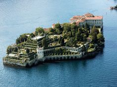 Lago Maggiore - Isola Bella It was so cool to have to take a boat to go to see this property.