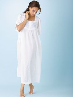 Ulla Popken Flutter Sleeve Gown $39.00