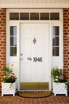 """This would look great on our house as no one can see the numbers the contractor put up. It's hard when your address is """"111""""."""