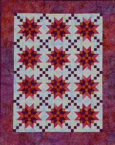 Good Night Sweetheart quilt pattern designed by Debbie Caffrey
