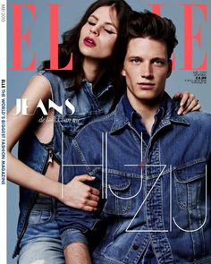 Florian van Bael is featured on the cover of Dutch Elle, May 2013. Photos by Wendelien Daan. Styling by Thomas Vermeer.