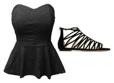 """""""Untitled #22"""" by jalaya06 on Polyvore featuring LE3NO and Jimmy Choo"""