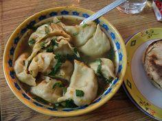 Nepali Vegetable Stuffed Dumplings-- mo mo!