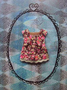 Cap sleeve blouse for Blythe - Liberty print 1 by moshimoshistudio