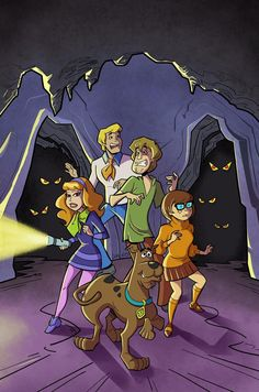 """Next up, some """"on-model"""" work with one of my all-time favs: Scooby Doo and the Mystery Inc . Scooby Doo - The Case of the Creepy Cave Creatures Disney Phone Wallpaper, Cartoon Wallpaper, Be Cool Scooby Doo, Desenho Scooby Doo, Scooby Doo Images, Old Cartoon Network, Cartoon Caracters, Scooby Doo Mystery Incorporated, Shaggy And Scooby"""