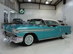 1958 Oldsmobile 2Dr. H.t. Holiday 88 Sedan.
