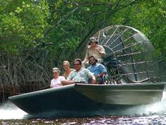 Ride one of these in the everglades! Air boat rides on my bucket list!