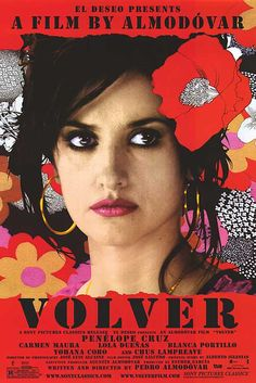 Penelope Cruz talks about the movie Volver, written and directed by Pedro Almodovar. Penelope Cruz on her friendship with Almodovar, the Oscar buzz, supernatural elements of Volver, and the prosthetic butt rumors. It Movie Cast, Love Movie, Movie Tv, Sahara Movie, Almodovar Films, Cinema Posters, Movie Posters, Pop Posters, Cast Images