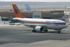 Foto: Hapag Lloyd Airbus A310-304 (D-AHLA) in Frankfurt (FRA) Taxi ...