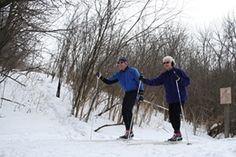 The Outdoor Campus offers snowshoe classes and cross country skiing. | Visit Sioux Falls