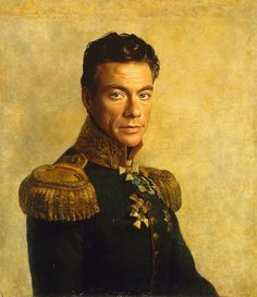 Russian Generals In Ancient Paintings Replaced With Celebrities - If celebrities were 19th century military generals they would look like this