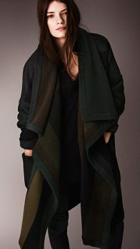 Knitted Blanket Coat | Burberry