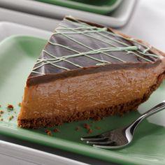 VeryBestBaking.com   No-Bake Dark Chocolate & Mint Cheesecake