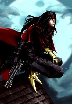 Vincent Valentine, from FFVII, dirge of cerberus