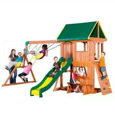 Somerset All Cedar Swing Playset