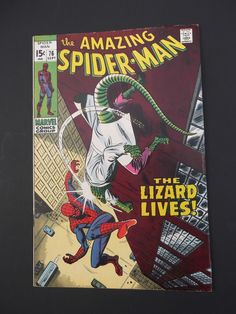 Amazing Spider-Man #76! Silver Age! 1969! Marvel! Stan Lee! John Romita!