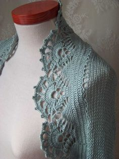 Free Shrug Knitting Patterns | Knit/crochet pattern, Ice blue shrug, PDF | Berniolie MISI Handmade ...