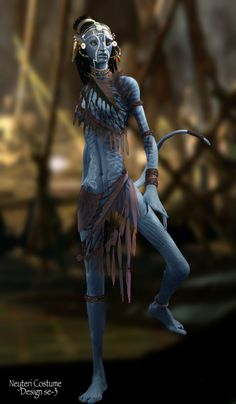 Neytiri Beautiful Warrior In Avatar Avatar Movie, Avatar Characters, Fantasy Characters, Science Fiction, Character Inspiration, Character Art, Character Design, Martin Scorsese, Alfred Hitchcock