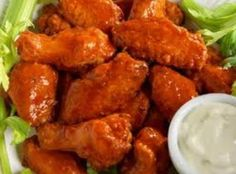 BARBECUE CHICKEN WINGS, (Crockpot) Recipe | Just A Pinch Recipes