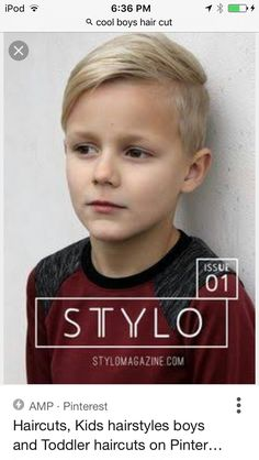 pictures of boys cool haircuts Boys Haircuts 2016, Kids Hairstyles Boys, Cool Boys Haircuts, Little Boy Haircuts, 2015 Hairstyles, Childrens Haircuts, Toddler Boy Haircuts, Boy Haircuts Short, Boy Toddler