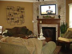 Hearth Room from NDG 882 - Ambrose Boulevard   For more house plans visit www.nelsondesigngroup.com