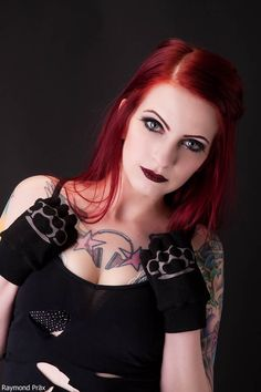 Red Head Gallery Tattoo Fetish