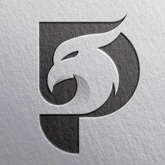 22 Ideas Music Logo Design Typography Behance For 2019 P Logo Design, Web Design, Lettering Design, Design Art, Branding Design, Vintage Logo, Album Cover, Logo Creation, Music Logo