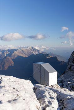 Gallery of Winter Cabin on Mount Kanin / OFIS arhitekti - 6