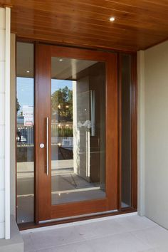 Interior and Exterior Designs & Ideas Entry Wall, Entry Doors, Secret Rooms In Houses, Exterior Design, Interior And Exterior, Exterior Houses, Wardrobe Door Designs, Living Room Decor Inspiration, Main Door Design