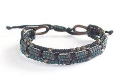 Kommer snart till Masomenos: Wakami Complements - Leather Black unisex-armband WA0549-02