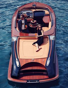 ***Enjoy the ride*** Yacht Design, Boat Design, Yatch Boat, Riva Boat, Wooden Speed Boats, Sports Nautiques, Classic Wooden Boats, Vintage Boats, Cool Boats