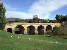 Richmond, Tasmania- Austrailia's oldest bridge... Such bitter sweet history I saw in this village