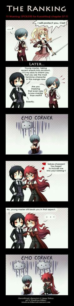 Poor Grell. She just wants to be a female.