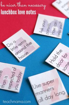 Tired of the kids fighting and not getting along? These be nicer than necessary notes are lunchbox love notes to help us all stop bickering! I like to put these lunchbox love notes in my kids' lunches to encourage and help them and these will do just that! #teachmama #backtoschool #bts #lunchboxlovenotes #momtips #parenting #lunchbox #backtoschoollunches #schoollunch #raisingchildren