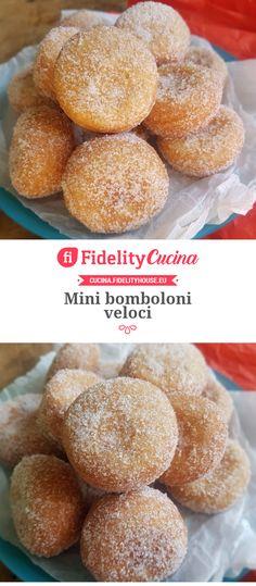 Fast mini donuts - Pastry World Mini Donuts, Beignets, Dessert Drinks, Desserts, E Recipe, Good Food, Yummy Food, Nutella, Food To Make