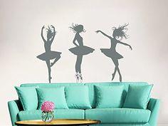 Wall Decals Ballerina Acrobatics Girl Ballet Dancer Gymnastics Sport Jump Girls Kids Children Gift Nursery Dance Studio Wall Vinyl Decal Stickers Bedroom Murals Best_WallDecals_For_You http://www.amazon.ca/dp/B00SEE5J96/ref=cm_sw_r_pi_dp_vvQQvb16S6K41