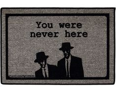 LOL this is an awesome doormat