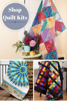Looking for a one-of-a-kind quilting design for your next project? Browse thousands of quilt kits on Craftsy today and find the one that fits your style! Quilt kits include the pattern and the fabric that you need to make a beautiful, finished quilt. Achieve convenience and creativity with quilt kits from Craftsy!
