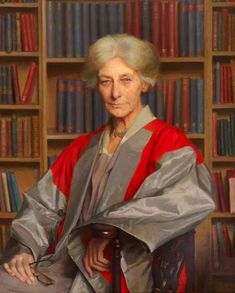 Eleanor Constance Lodge, MA, DLitt, Principal of Westfield College (1921–1931), 1933 by Sir Gerald Kelly (1879-1972)