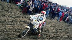 One more Jutta photo... 1988 Paris-Algier-Dakar rally.
