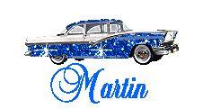 Naamanimaties en naamplaatjes van Martin
